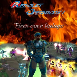 Redoubt-Operations-1-Fires-over-Kalago-Logo-Poster
